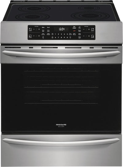 Frigidaire Gallery 5.4 Cu. Ft. Front-Control Induction Range with Air Fry - CGIH3047VF - Electric Range in Stainless Steel
