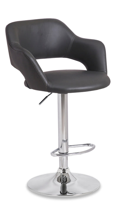 Finn Bar Stool - Grey - {Modern} style Bar Stool in Grey {Metal}