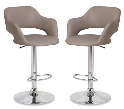 Finn Bar Stool, Set of 2 - Beige|Tabouret bar Finn, ensemble de 2 - beige|FINNTBSP