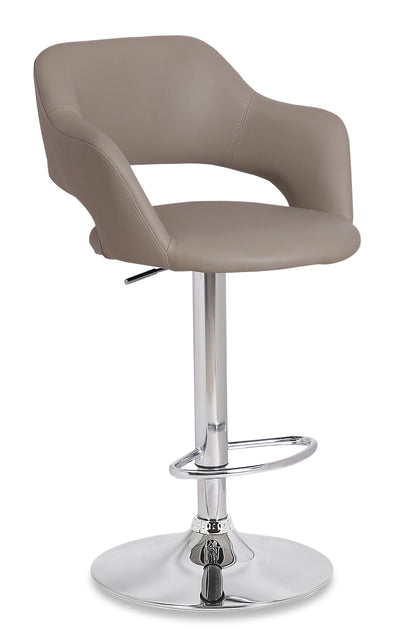 Finn Bar Stool - Beige - {Modern} style Bar Stool in Beige {Metal}