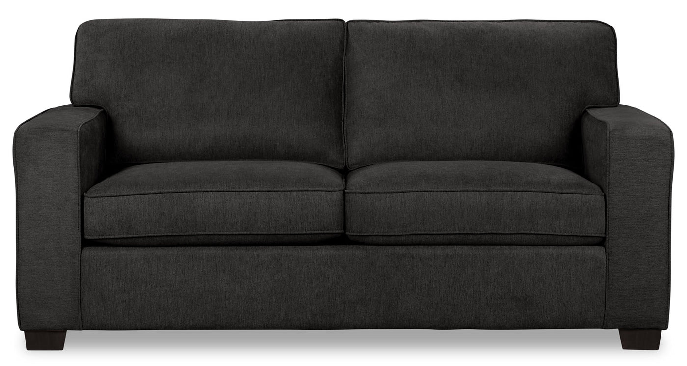 Picture of: Fiona Chenille Twin Size Sofa Bed Grey The Brick