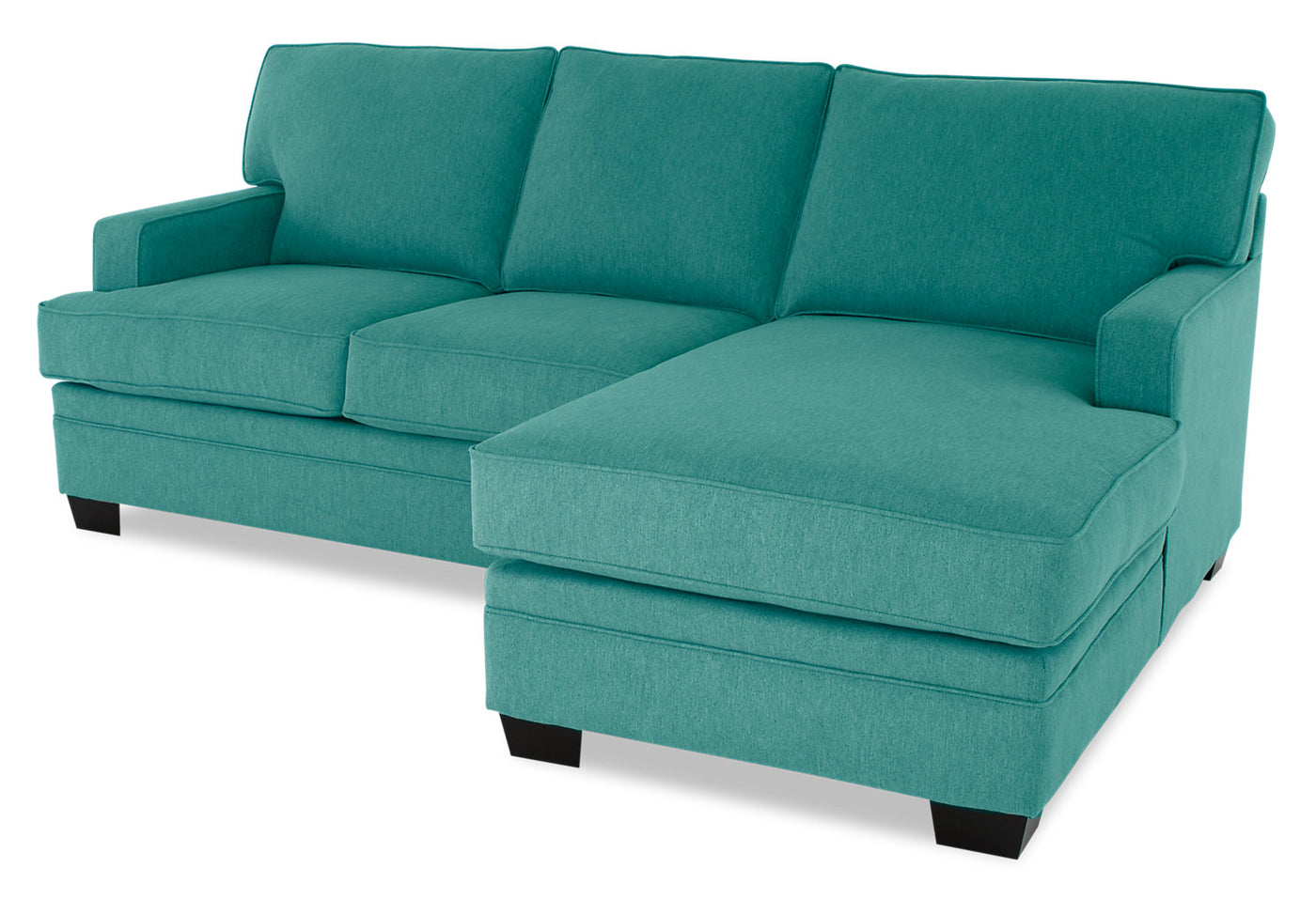Swell Designed2B Flora 2 Piece Chenille Right Facing Sectional With Loveseat Milo Teal Cjindustries Chair Design For Home Cjindustriesco