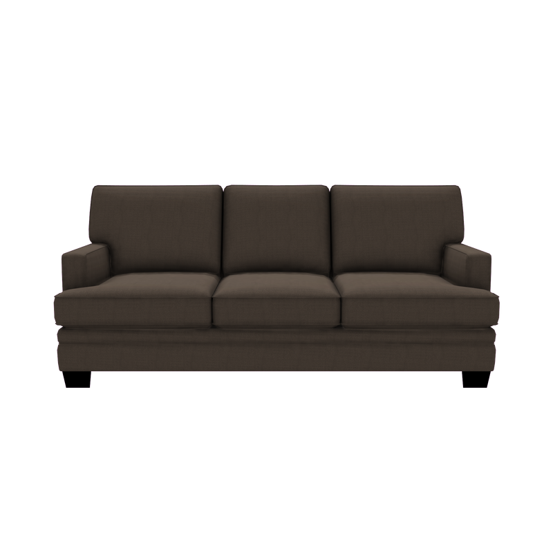Designed2B Flora Textured Polyester Sofabed - Plush Dark Ash - Sofabed