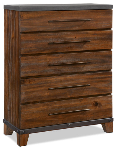 Forge Chest - {Rustic} style Chest in Rustic Brown