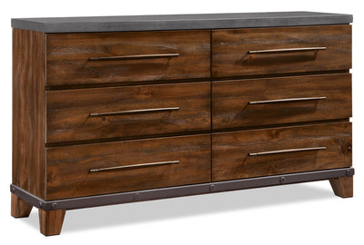 Forge Dresser - {Rustic} style Dresser in Rustic Brown