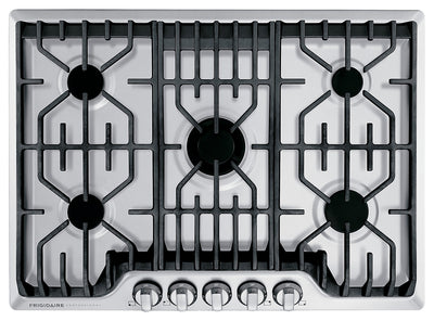 Frigidaire Professional 30'' Gas Cooktop with Griddle - FPGC3077RS