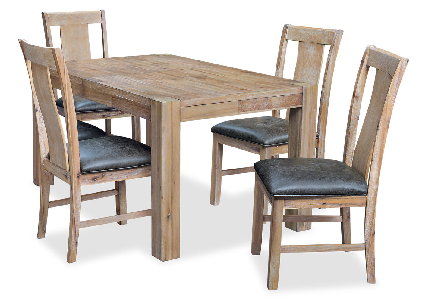 Fresno 5-Piece Dining Package