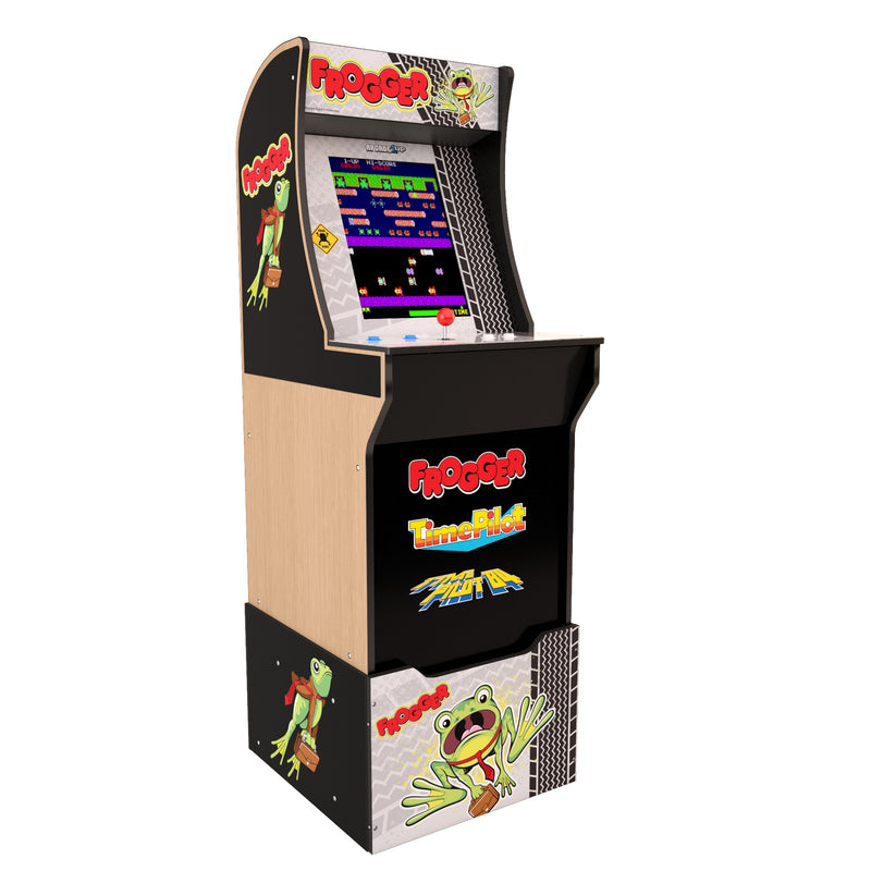 Arcade1Up Arcade Cabinet - Arcade1Up Frogger™ Arcade Cabinet with Riser