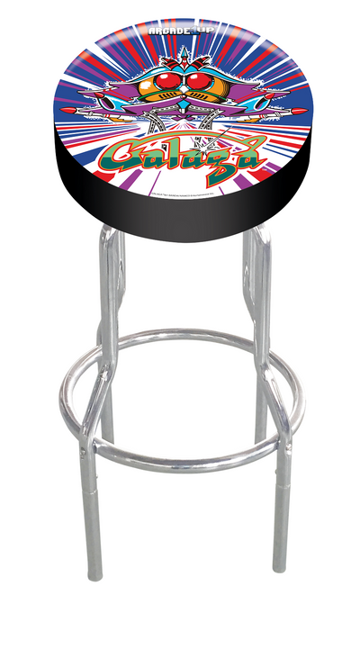Tastemakers Fully Licensed Adjustable Arcade Stool - Galaga|Tabouret d'arcade réglable sous licence officielle de Tastemakers - Galaga|GALAGSTL