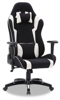 Gamer Chair - Black and White