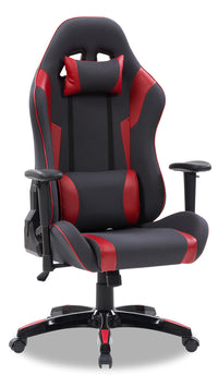 Gamer Chair - Grey and Red