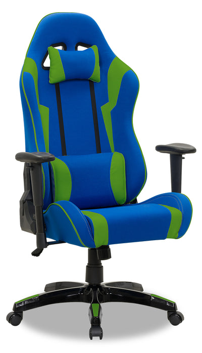 Gamer Chair - Navy and Green