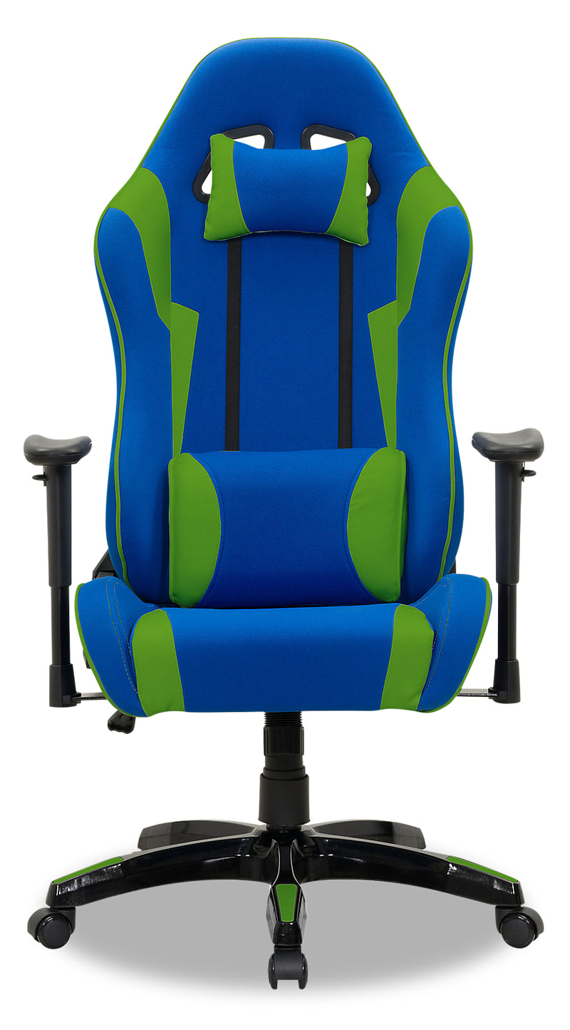 Picture of: Gamer Chair Navy And Green The Brick