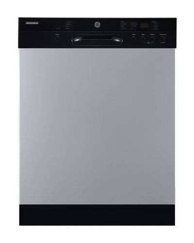 GE Built-In Front Control Dishwasher with Stainless Steel Tub - GBF532SSMSS - Dishwasher in Stainless Steel