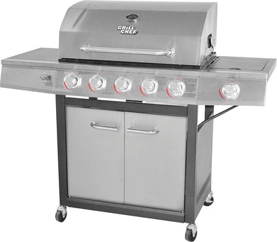 Grill Chef 72,000 BTU Dual-Fuel Barbecue – GC1088 | Barbecue hybride Grill Chef de 72 000 BTU – GC1088