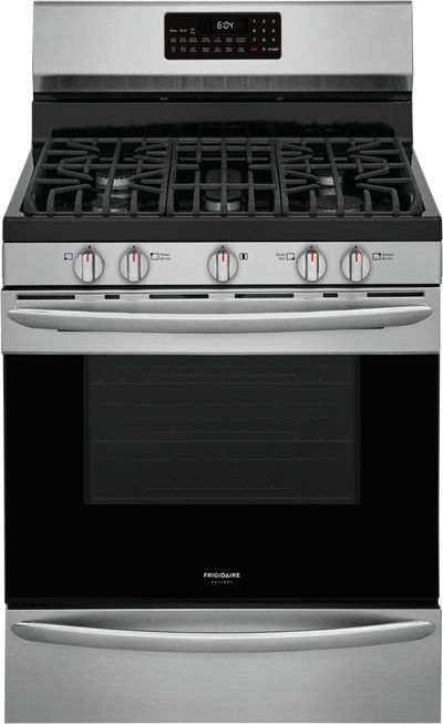 Frigidaire Gallery 5 Cu. Ft. Freestanding Gas Range with Air Fry - GCRG3060AF - Gas Range in Smudge-proof Stainless Steel