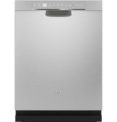 GE 48 dB Front-Control Dishwasher with Stainless Steel Tub - GDF645SSNSS - Dishwasher in Stainless Steel