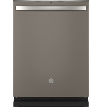 GE Built-In Top-Control Dishwasher with Full Third Rack - GDT665SMNES - Dishwasher in Slate