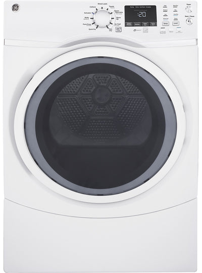 GE 7.5 Cu. Ft. Front-Load Electric Dryer - GFD45ESMMWW|Sécheuse électrique GE de 7,5 pi3 à chargement frontal - GFD45ESMMWW|GFD45EMW