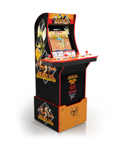 Arcade1Up Golden Axe™ Arcade Cabinet with Riser|Borne de jeu Arcade1Up Golden AxeMD avec plateforme|GOLDNAXE