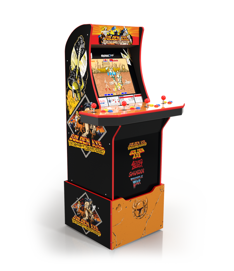 Arcade1Up Arcade Cabinet - Arcade1Up Golden Axe™ Arcade Cabinet with Riser