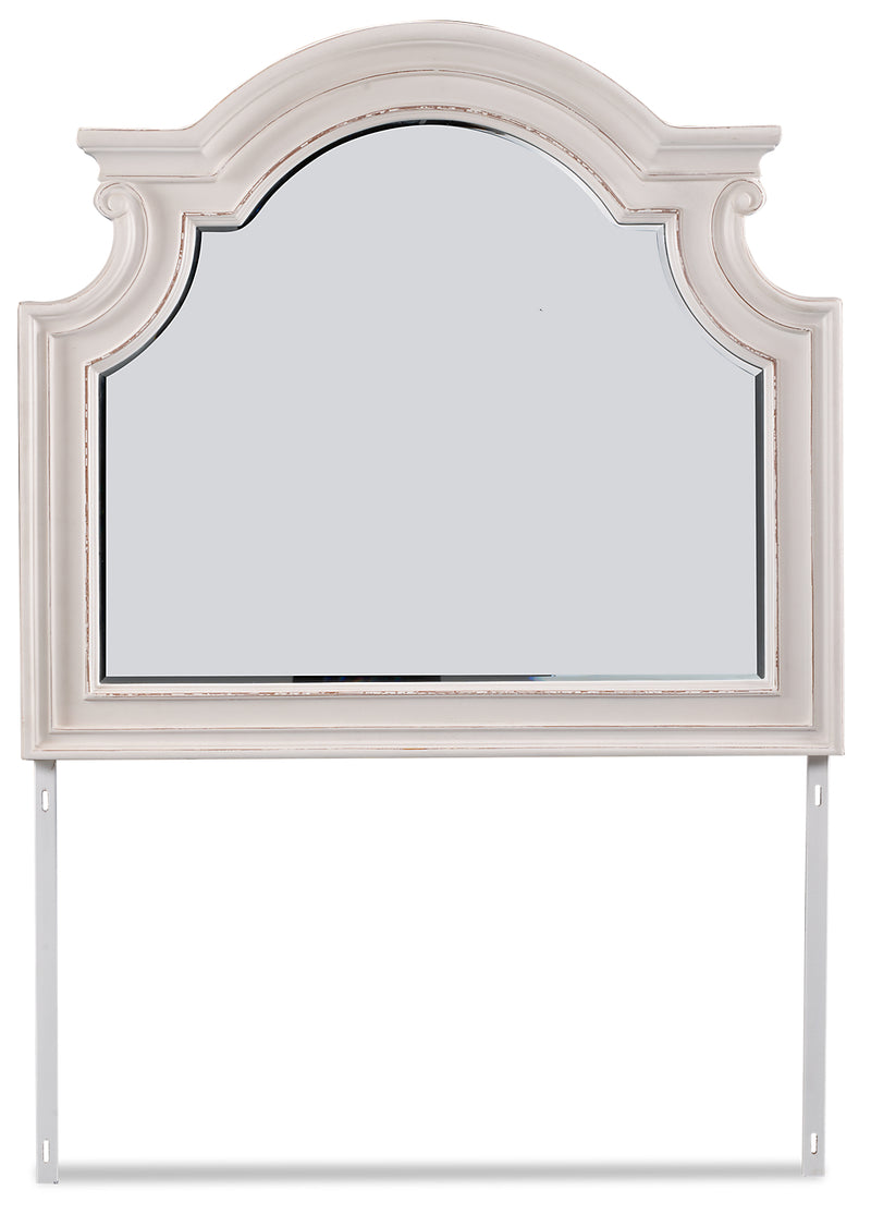Grace Mirror – Antique White - {Country} style Mirror in Antique White {Poplar}