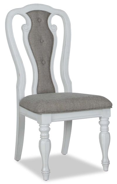 Grace Dining Chair - {Country} style Dining Chair in Antique White {Poplar}, {Oak}