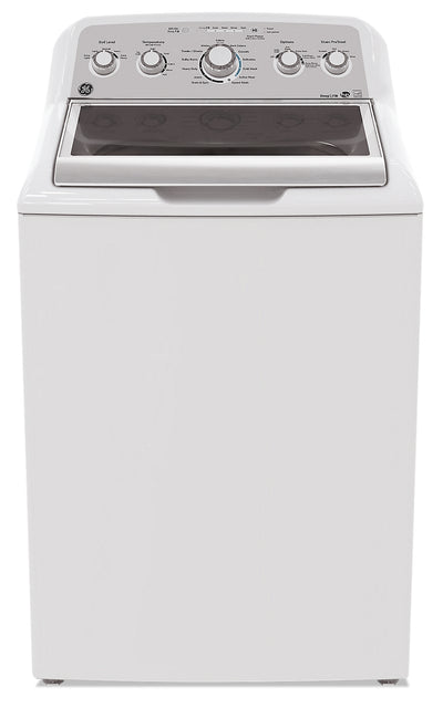 GE 5.0 Cu. Ft. Top-Load Washer - GTW575BMMWS - Washer in White