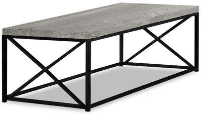 Harper Reclaimed Wood Look Coffee Table - Grey