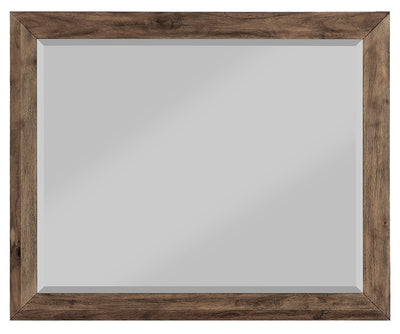 Hayden Mirror - {Contemporary} style Mirror in Grey {Acacia}