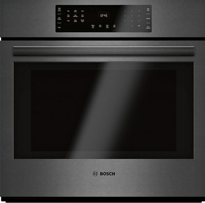 Bosch 4.6 Cu. Ft. 800 Series Smart Single Wall Oven - HBL8443UC|Four mural simple intelligent Bosch de série 800 de 4,6 pi3 - HBL8443UC|HBL8443U