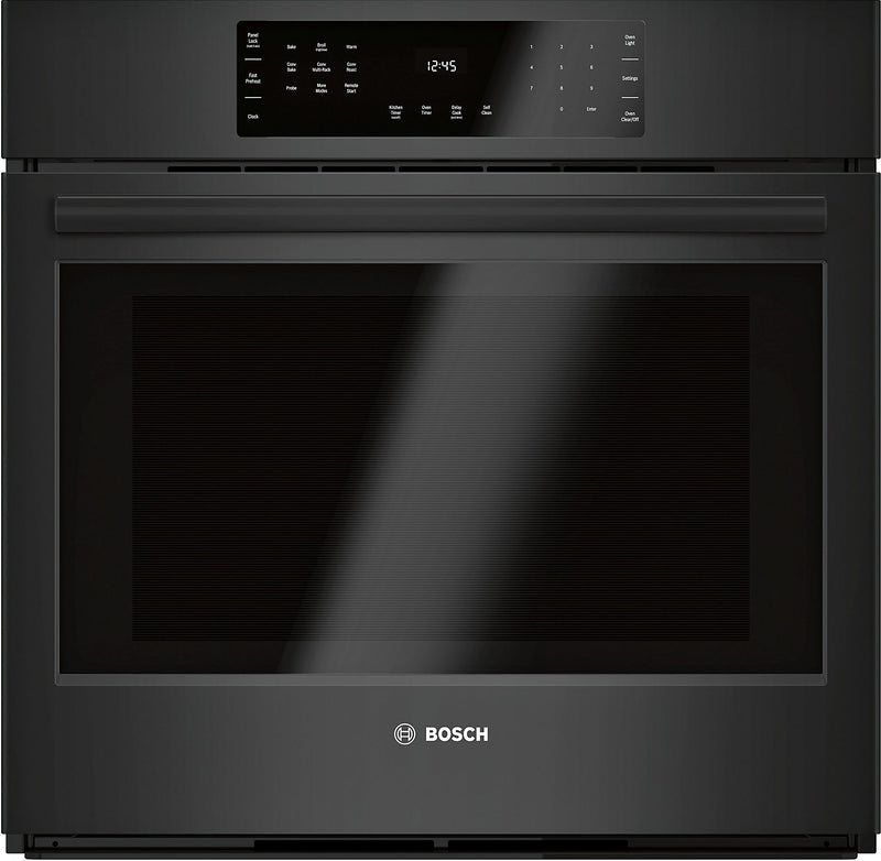 Bosch 4.6 Cu. Ft. 800 Series Smart Single Wall Oven - HBL8463UC|Four mural simple intelligent Bosch de série 800 de 4,6 pi3 - HBL8463UC|HBL8463U
