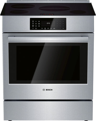 Bosch 4.6 Cu. Ft. 800 Series Electric Range with Induction Cooktop - HII8056C
