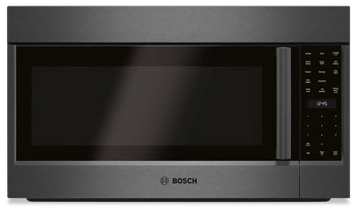Bosch 800 Series 1.8 Cu.Ft. Over-the-Range Microwave - HMV8044C - Over-the-Range Microwave in Black Stainless Steel