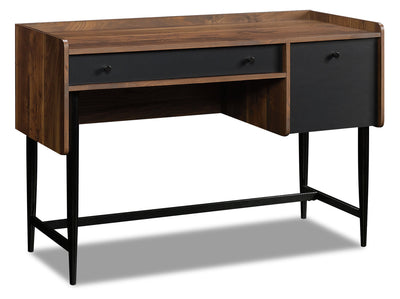 Hope Desk with Storage - Grand Walnut