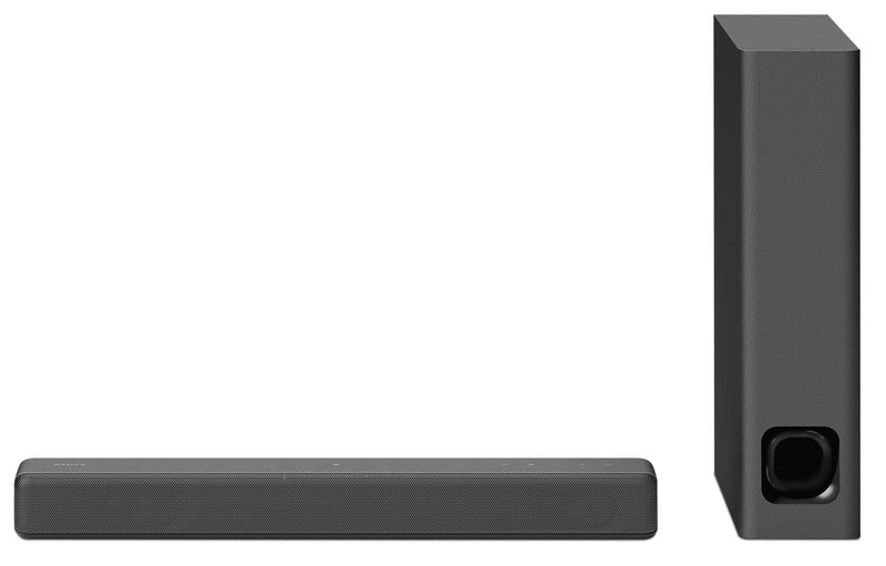 Sony 2.1 Channel Compact Soundbar with Wireless Subwoofer and Bluetooth® - HTMT300/B|Barre de son compacte 2.1 canaux avec technologie BluetoothMD de Sony - HTMT300/B