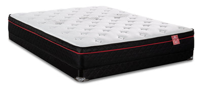 Springwall True North Huron Eurotop Low-Profile Twin Mattress Set|Ensemble matelas à Euro-plateau à profil bas True North Huron de Springwall pour lit simple|HURONLTP