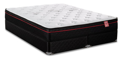 Springwall True North Huron Eurotop Split Queen Mattress Set|Ensemble matelas à Euro-plateau divisé True North Huron de Springwall pour grand lit|HURONSQP