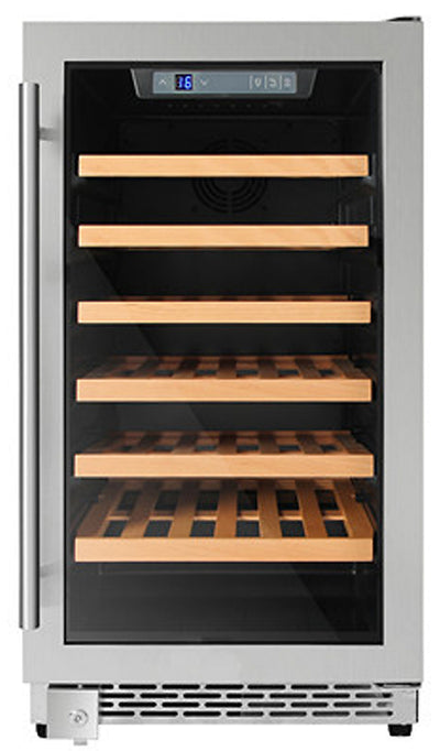 "Thor Kitchen 18"" Built-In or Freestanding Wine Cooler - HWC2405U-SS