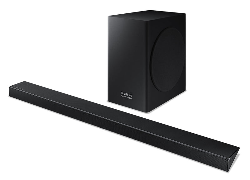 Samsung Harman/Kardon HW-Q60R 5.1-Channel Soundbar and Wireless Subwoofer - HW-Q60R/ZC|Barre de son à 5.1 canaux et caisson d'extrêmes graves sans fil HW-Q60R/ZC Harman/Kardon Samsung|HWQ60RSB