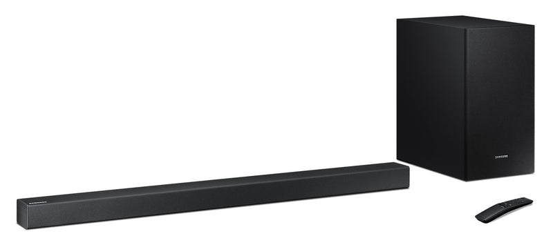 Samsung HW-R450 2.1-Channel Soundbar and Wireless Subwoofer – 200 W|Barre de son à 2.1 canaux et caisson d'extrêmes graves sans fil HW-R450 de Samsung - 200 W