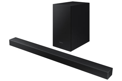 Samsung Elect Inventory Soundbar - Samsung T40M 2.1-Channel Surround Sound Soundbar with Wireless Subwoofer - HW-T40M/ZC