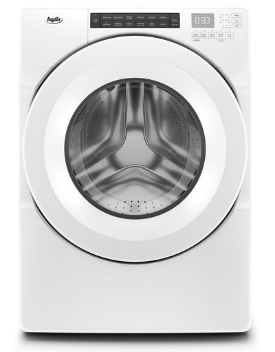 Inglis 5.0 Cu. Ft. Closet-Depth Front-Load Washer - IFW5900HW|Laveuse Inglis de 5 pi3 à chargement frontal de profondeur placard - IFW5900HW|IFW5900W