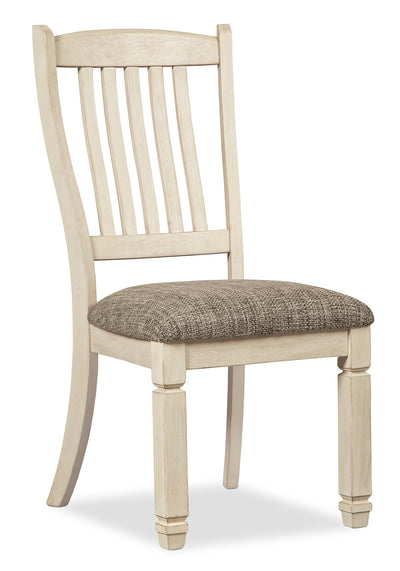 Ilsa Dining Chair - {Country} style Dining Chair in Antique White {Asian Hardwood}
