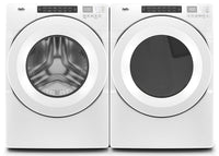Inglis 5.0 Cu. Ft. Closet-Depth Front-Load Washer and 7.4 Cu. Ft. Electric Dryer with Intuitive Touch Controls