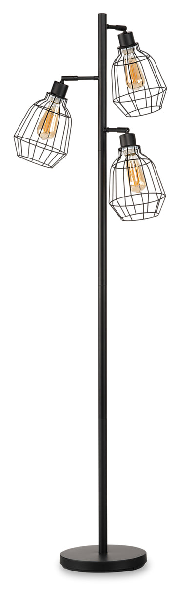 Jaxon Metal Wire Floor Lamp|JAXONBFL
