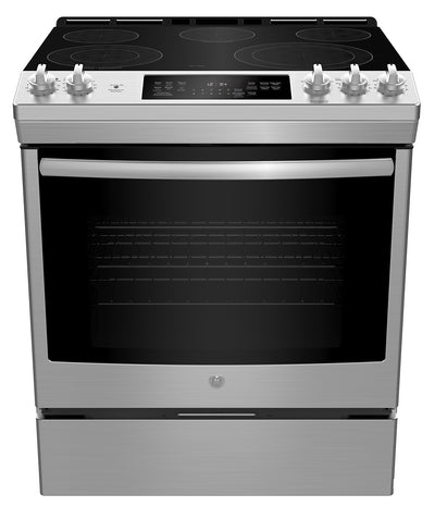 GE 5.3 Cu. Ft. Convection Slide-In Electric Range - JCS840SMSS