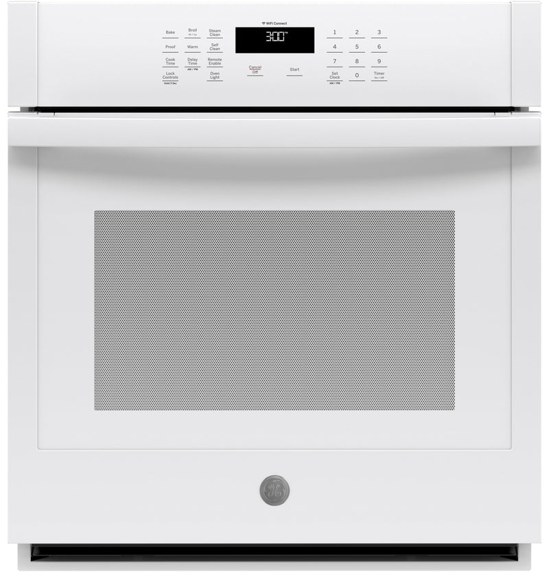 "GE 27"" 4.3 Cu. Ft. Smart Built-In Single Wall Oven - JKS3000DNWW 