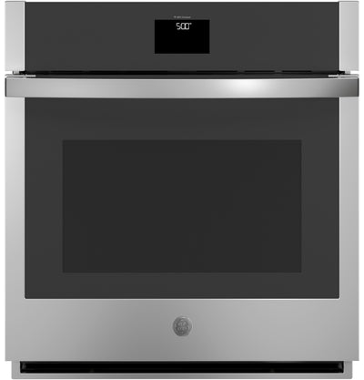 "GE 27"" 4.3 Cu. Ft. Smart Built-In Single Wall Oven with Convection - JKS5000SNSS - Electric Wall Oven in Stainless Steel"