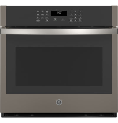 "GE 30"" 5.0 Cu. Ft. Smart Built-In Single Wall Oven - JTS3000ENES - Electric Wall Oven in Slate"